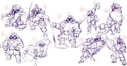 Knight pose Page 2