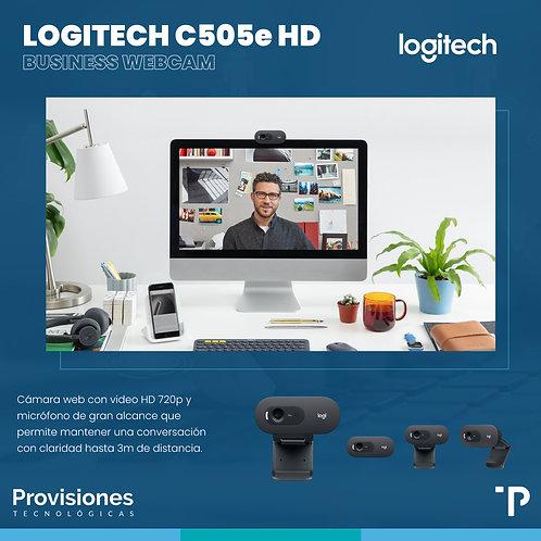 Logitech C505e webcam HD720p