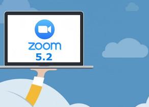 Activa Zoom 5.2 para animar tus reuniones.
