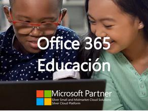 Aprendizaje remoto con Office365 Educación