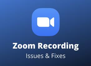 ZOOM Cloud Recording