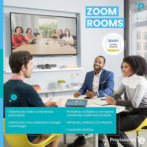 Zoom Rooms (anual - 1 Sala)