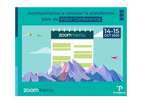 ZoomTopia 2020 con Provisiones Tecnologicas