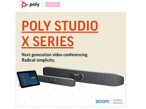 Zoom con Poly Studio X