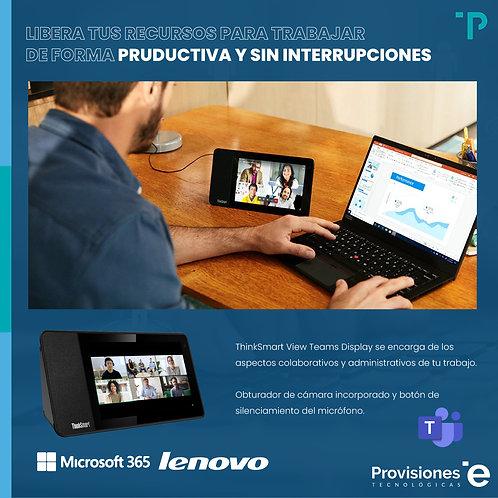Lenovo ThinkSmart View Microsoft Teams