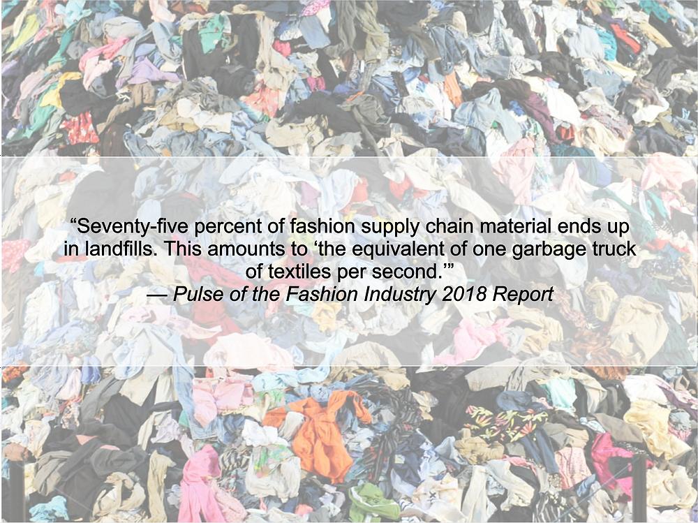 Fast Fashion Landfill