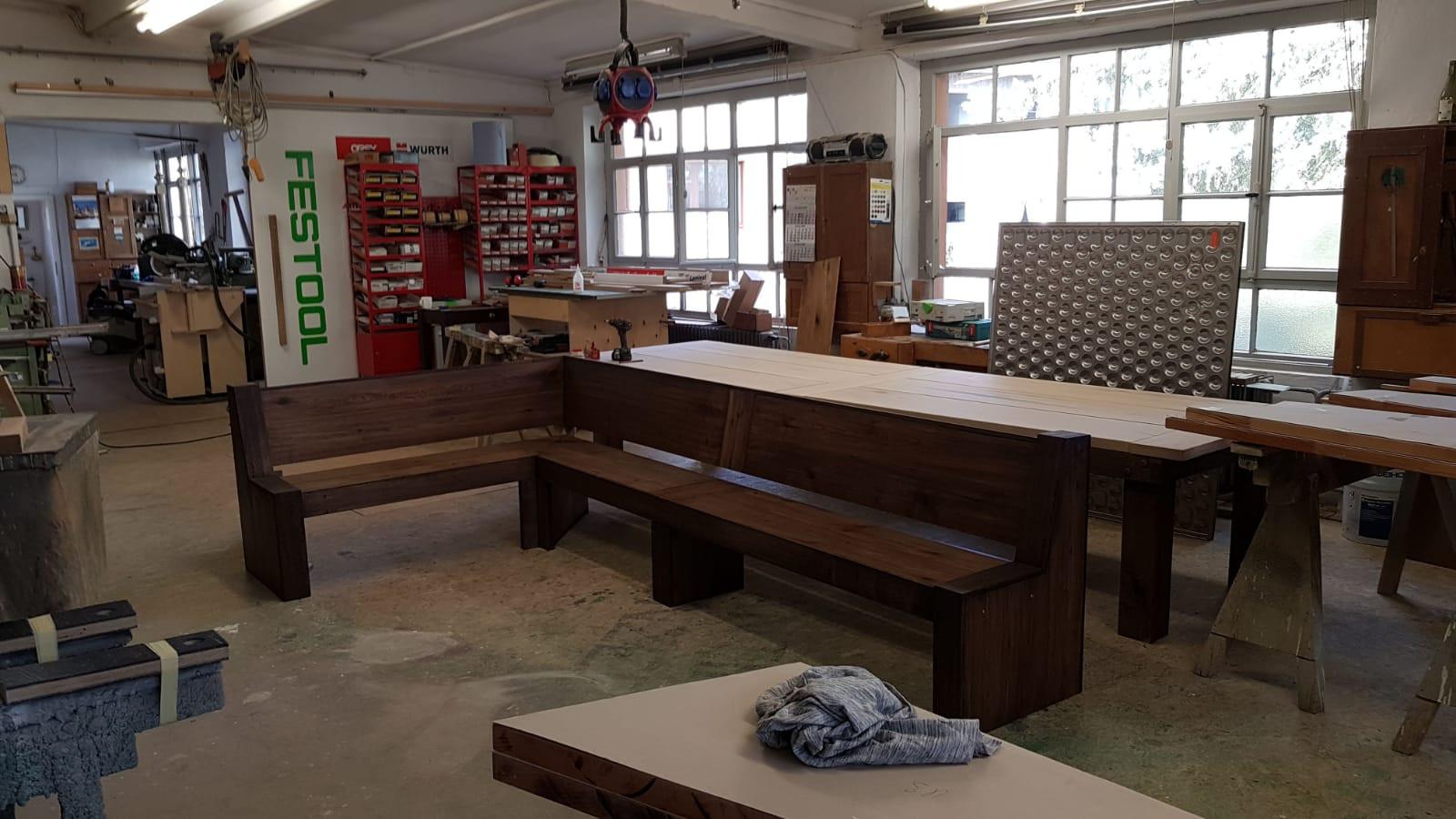 Werkstatt Schreinerei Antikkonzept