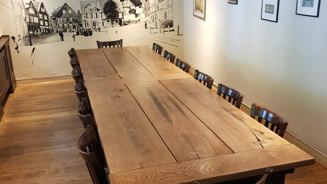 Gastro Tafel rustikal Neu Antikkonzept