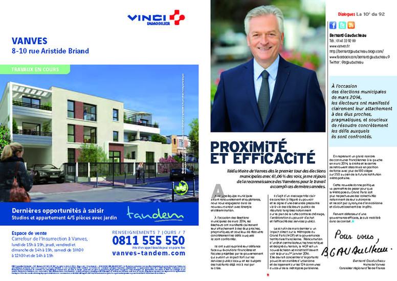 VINCI JOURNAL ISSY LES MOULINEAUX