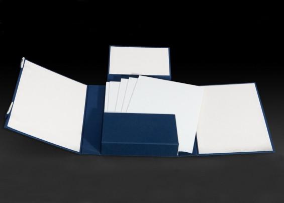 קופסא - תיקייה יפנית לנייר.