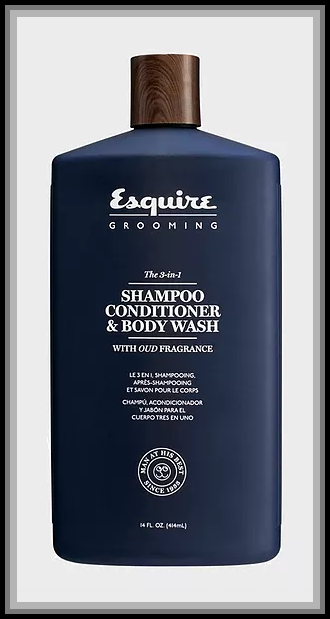 3-in-1 Shampoo,Conditioner&Body Wash