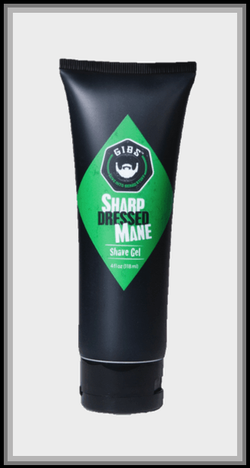Sharp Dressed Mane Shave Gel