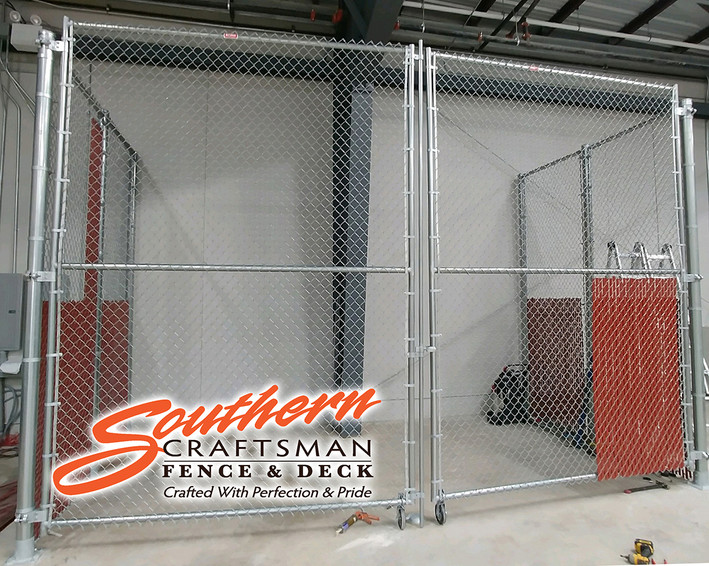 Industrial Security Cage
