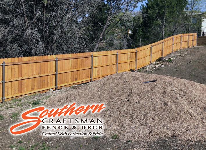 Cedar Wood Privacy Fence