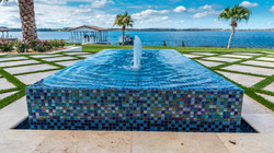 Focal water feature