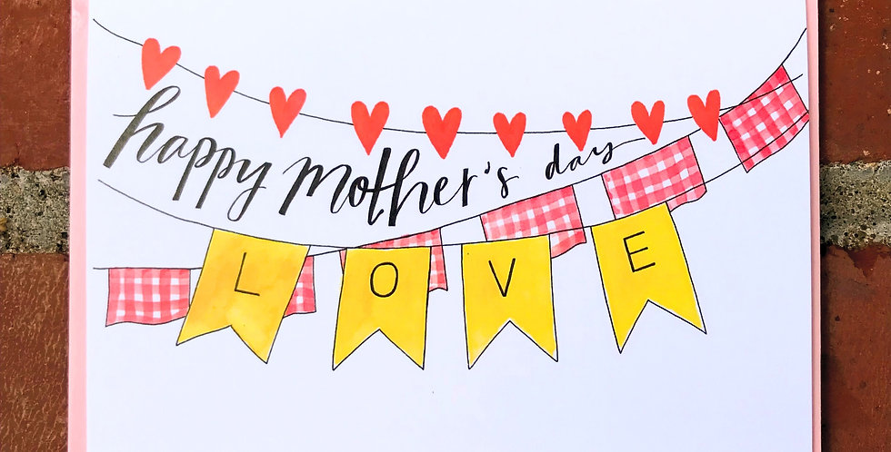 Mother's Day Bunting!