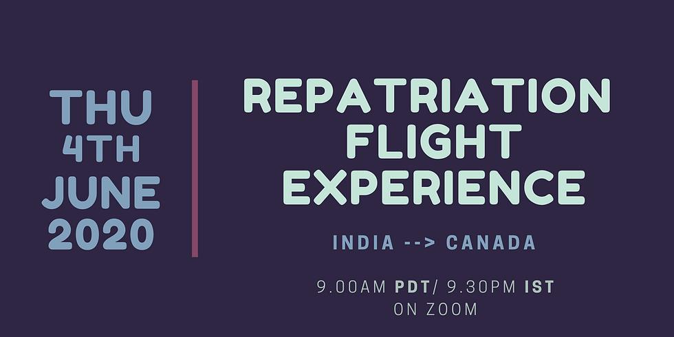 The Repatriation Flight Experience