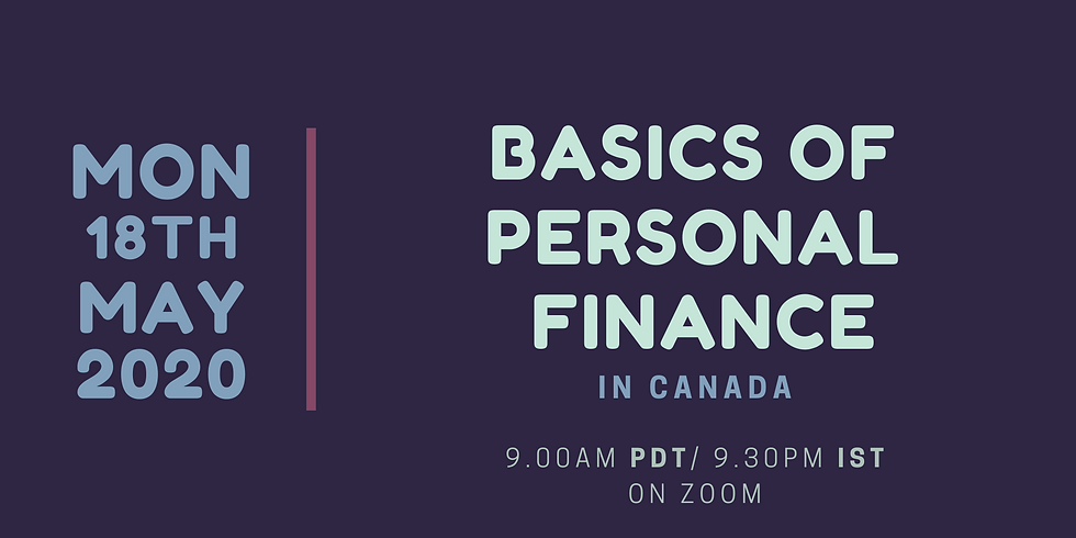 Basics of Personal Finance in Canada