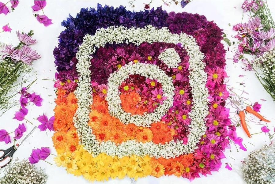 flower instagram