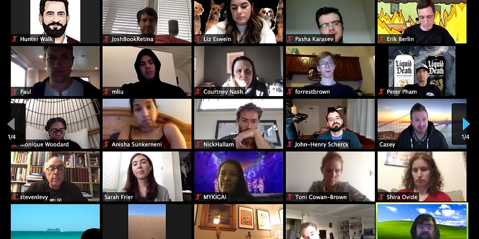 Bring-Your-Own-Mask Virtual Meetup - Van-Bay
