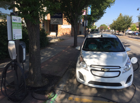 Yes, even in Alberta, an electric car makes good environmental sense.