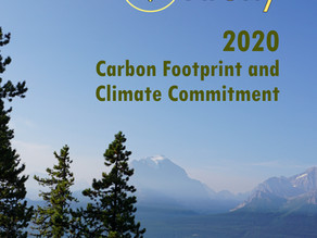 We're carbon neutral, and we'll stay that way