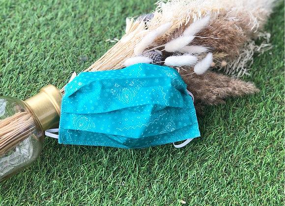 Masque Bandana Turquoise