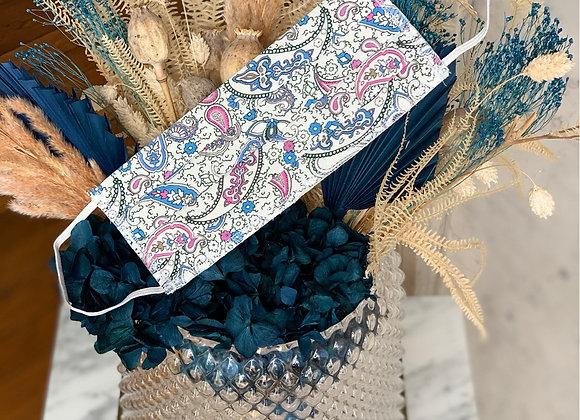 Bandana Rose et Bleu