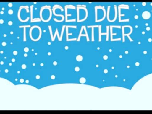 We are closed today Thursday 11/2