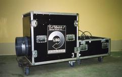 Low smoke generator