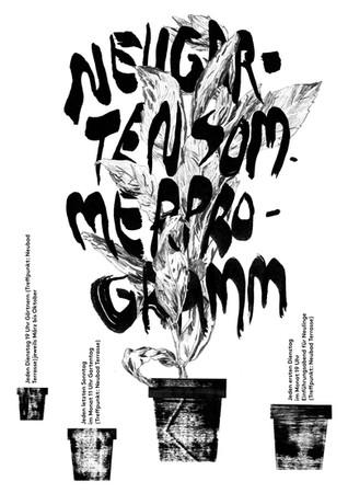 Neubad Plakat: Neugarten
