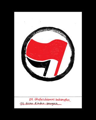 24. Ökofaschismus bekämpfen.