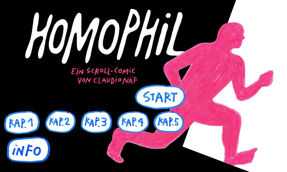 Homophil Menu