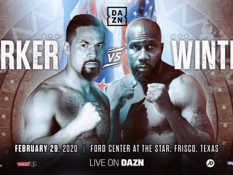 PARKER FACES WINTERS IN FRISCO