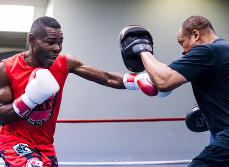 GUILLERMO RIGONDEAUX TRAINING CAMP QUOTES & PHOTOS