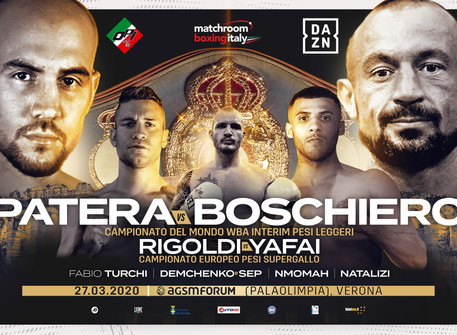 PATERA AND BOSCHIERO CLASH FOR INTERIM WBA