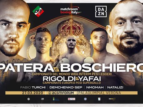 PATERA AND BOSCHIERO CLASH FOR INTERIM WBA
