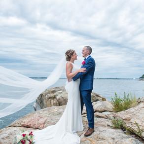 Married! Jill and Al
