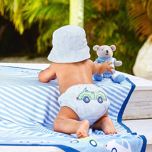 Sun hat and diaper cover G105
