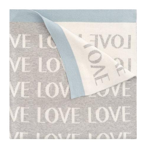 Blue Love Blanket