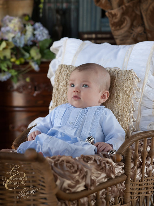 601 Boy's Take Me Home Gown and Hat