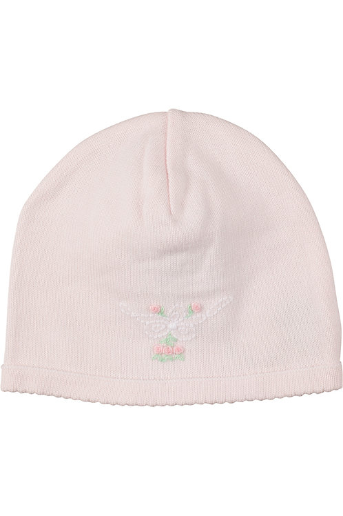 Shadow Stitched Bow Hat in Pink 305P