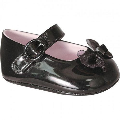 Baby Deer Black Patten shoe 5544
