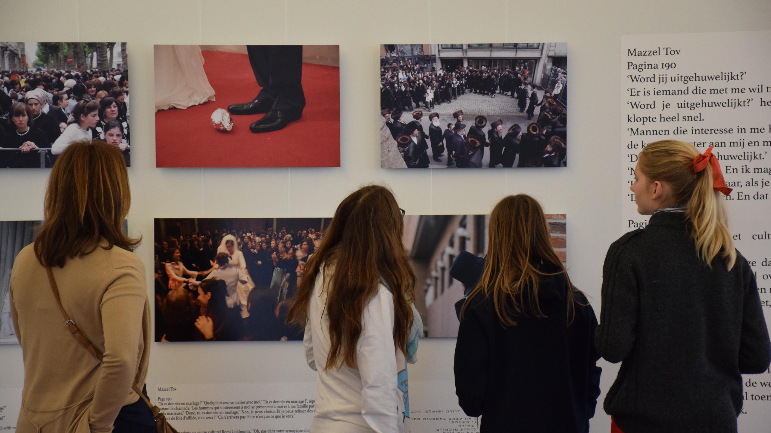 Visite de l'expo à la Caserne Dossin
