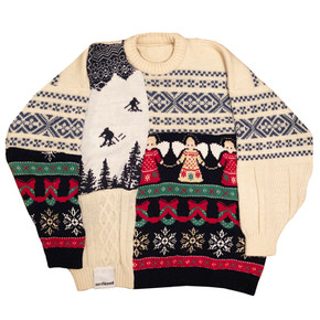 'HOME ALONE 6' PATCHWORK KNIT
