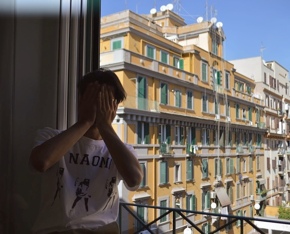 """When In Rome"" Danny In Naomi Shirt"