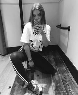 Raluca In Summer 2017 Naomi T Shirt
