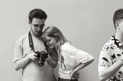 Tom & Rowan During Lookbook Shoot