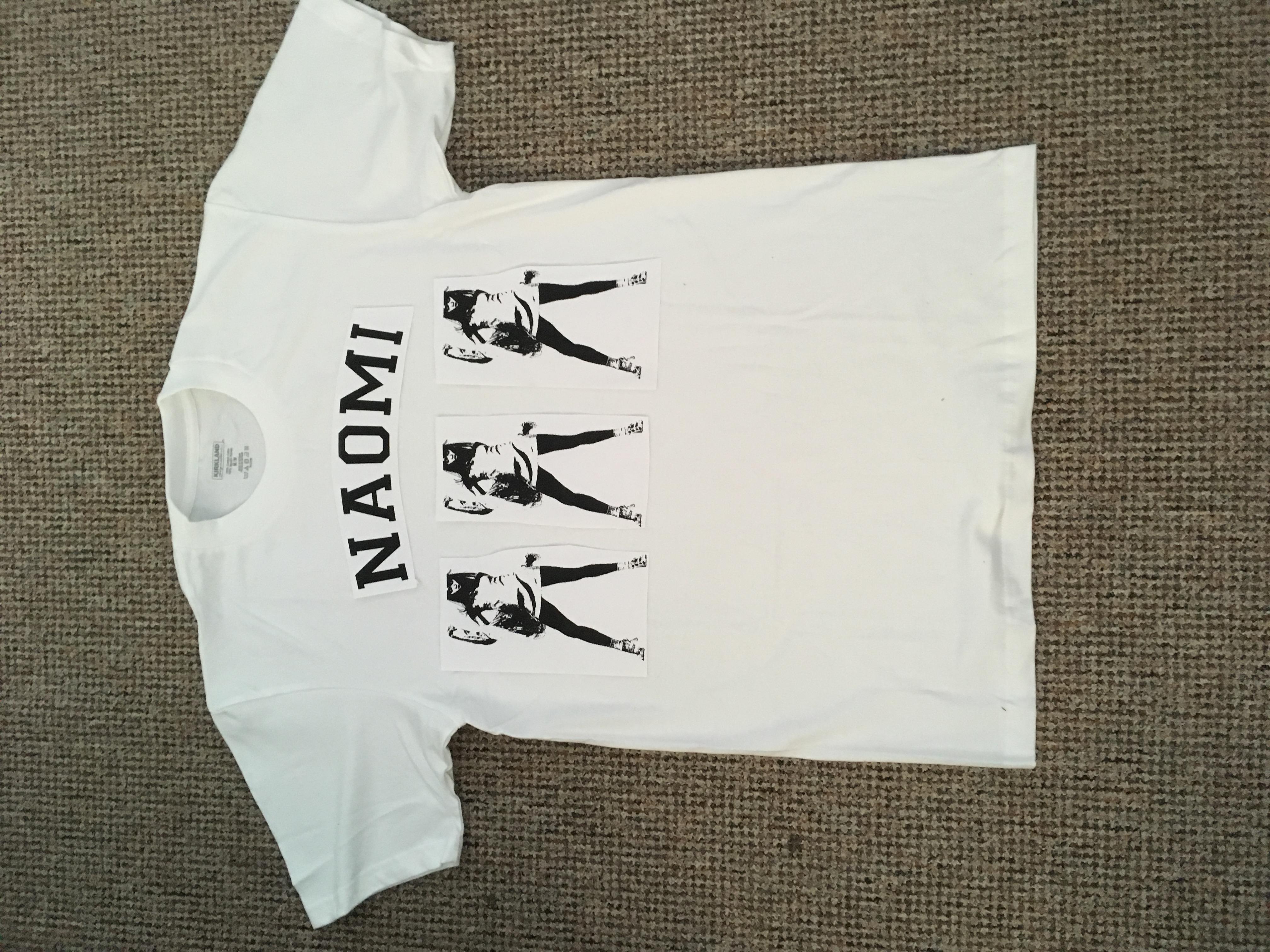 24/07/17 Naomi T Shirt Mockup