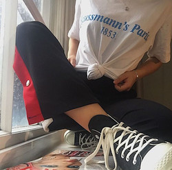 Maxine In SN Haussmann's Paris Shirt